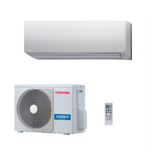 Toshiba Air Conditioning RAS-B10N3KVP-E Daiseikai Plasma Wall 2.5kw/9000 BTU) A+++ 240V~50Hz